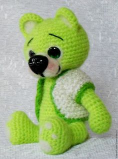 Bear Amigurumi PDF-Step by step Picture Tutorial Amigurumi Tutorial, Hello Kitty, Teddy Bear, Pictures, Crafts, Animals, Tutorials, Patterns, Nice