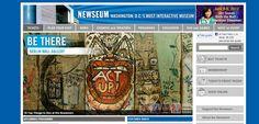 Newseum – Estados Unidos.  Es un museo interactivo de noticias y periodismo que se encuentra en Washington D.C. El edificio  cuenta con 15 teatros y 14 galerías.  En la galería de portadas del día se pueden apreciar más de 80 periódicos internacionales.