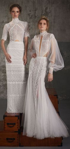 Boho wedding dress : Lior Charchy Fall 2018 Wedding #weddingdress #weddinggown #bridalgown #weddinggowns