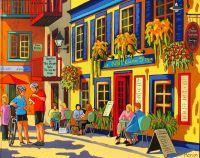 Le Petit Champlain by Louise Marion
