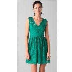 Madison Marcus Lace Tea Dress Size Xs