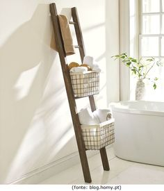 Reciclagem de escadas ou escadotes! / Recycling of stairs or ladders!