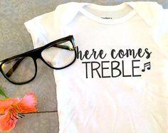 music onesie : here comes treble – Etsy