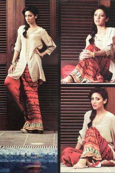 Sania Maskatiya Evening Wear Collection 2013 For Girls