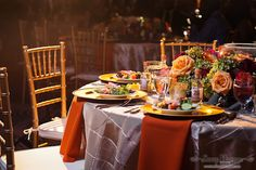 What an exquisite table of rich late summer/fall colors.  Esplanade Memphis is a wonderful venue for all of your upcoming events leading up to & including the Big Day.  To learn more about Esplanade Memphis, click the image.  Photo credit: Snap Happy Photography