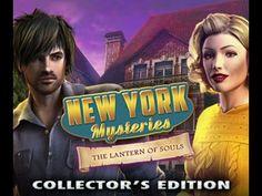 New York Mysteries 3 - The Lantern of Souls Trailer - Denda Games - YouTube