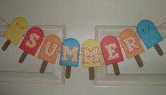 Summer Banner from Glora's Crafts