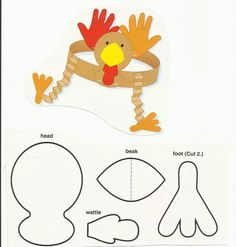 Good fall coloring/cutting/folding/sequencing idea...craft activities work on so many things at once!