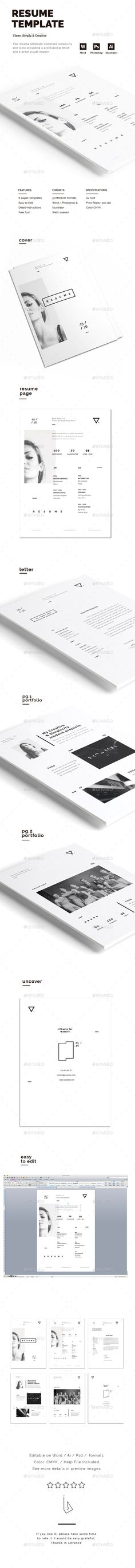 Personal Resume Template Design Design resume, Cv design and - ux design resume