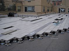 LandscapeOnline Design • Build • Maintain • Supply Flat Roof Systems, Roofing Systems, Terrace Floor, Rooftop Terrace, Planter Beds, Deck Tile, Rectangular Planters, Patio Flooring, Terrace Design
