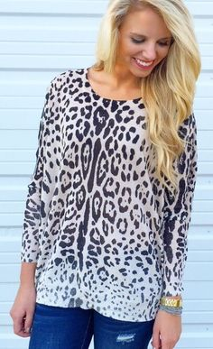 Lady Leopard Sweater #leopard #new #new-arrivals