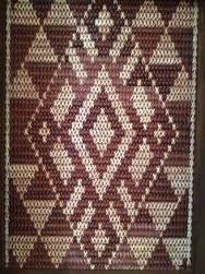 Image result for image tukutuku Bead Loom Patterns, Doily Patterns, Weaving Patterns, Finger Weaving, Hand Weaving, Samoan Patterns, Flax Weaving, International Craft, Polynesian Art
