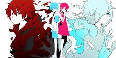 Hibiya Amamiya y Hiory / Kagerou Days
