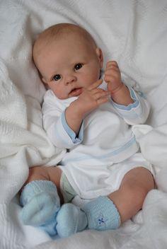 Custom reborn baby Krista. Custom made to by Tinytoesreborns