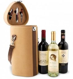 Wine Trio Travel Tote $84.95