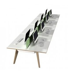 Office Bench Desks Providing Flexible Team Focused Desk Solutions For  Modern Office Environments. Our High Quality Range Of Modern Bench Desking  Cater For ...