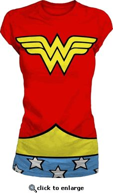 Wonder Woman shirt, $19.95