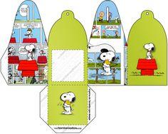 Caixa com Foto Snoopy: