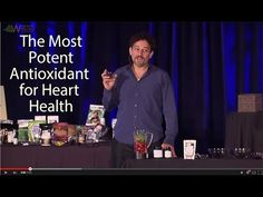 Nutritionist and Live Food Expert David Wolfe discusses Heart Health Antioxidants