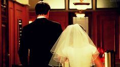 going to the chapel and we're gonna get married <3 lea and finn true love don't run away.