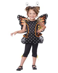 Monarch Butterfly Toddler Costume