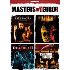 Masters of Terror (Halloween H2O / Hellraiser: Inferno / Dracula II: Ascension / Children of the Cor @ niftywarehouse.com #NiftyWarehouse #Dracula #Vampires #ClassicHorrorMovies #Horror #Movies #Halloween #Vampire