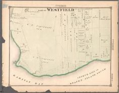 One of hundreds of thousands of free digital items from The New York Public Library. Staten Island New York, New York City Map, New York Public Library, Digital, Maps, Blue Prints, Map