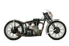 Burt Munro's  1936 Velocette drag bike