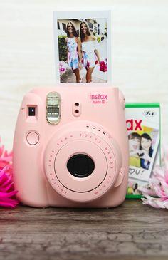 Fujifilm - Instax Mini 8 Camera - Pink