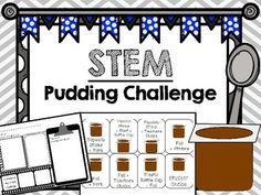 "STEM Pudding Challenge is an exciting way to promote critical thinking skills and problem solving. Students must problem solve to create a ""tool"" (eating utensil) to eat their pudding cup using only the materials given to them. If you like this product, you will LOVE the bundle!"