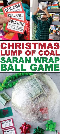 christmas traditions The best Christmas Saran Wrap ball game ever with directions on how to make the ball, what to put in the ball, tons of ideas or prizes, rules, and more! Youve never played a Saran Wrap game like this! Ideas for kids and adults. Fun Christmas Party Games, Xmas Games, Christmas Games For Family, Holiday Games, Xmas Party, All Things Christmas, Holiday Fun, Christmas Holidays, Christmas Ideas