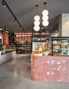 Hunter & Co Deli in Elsternwick, Melbourne by Mim Design   Yellowtrace #restaurantdesign