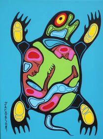 Canadian First Nations Artist Mark Anthony Jacobson, Shemanic Artist of the Contemporary Woodland Art Movement Woodland Art, Arte Tribal, Native American Artwork, Atelier D Art, Haida Art, Inuit Art, Aboriginal Art, Aboriginal Education, Indigenous Art