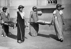Ca 1942: being trained for nursing,in Bombay