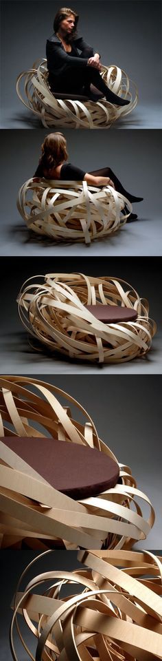 Nest chair . epic place to sit