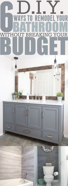 New Bathroom Cabinet Designs #bathroomcabinets