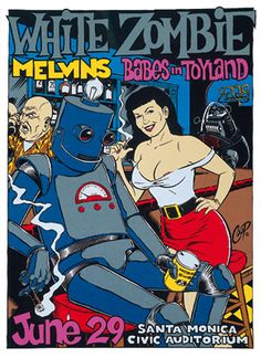 White Zombie - Melvins, The - Babes In Toyland