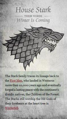 Stark #got #agot #asoiaf