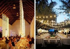 String Lights - Creative Lighting Ideas for Your Wedding Reception