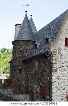 German castle Burg Eltz - stock photo