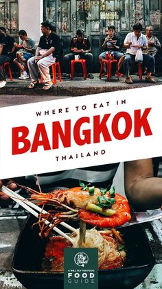 This food guide will show you where to go to find some of the best restaurants and street food stalls in Bangkok, Thailand. Thailand Vacation, Thailand Travel Guide, Bangkok Travel, Visit Thailand, Bangkok Thailand, Asia Travel, Thai Street Food, Thai Dishes, Koh Tao