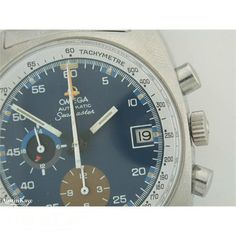 1973 Gents Omega Seamaster Chronograph steel automatic on bracelet.