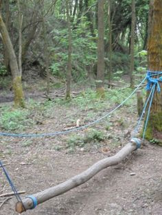 An obstacle course would be fun…maybe an easier route for kids, and more chall… – natural playground ideas Outdoor Play Spaces, Kids Outdoor Play, Backyard For Kids, Outdoor Fun, Backyard Ideas, Outdoor Toys, Backyard Obstacle Course, Kids Obstacle Course, Natural Playground