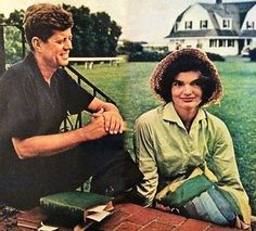 John and Jackie Kennedy by Jacques Lowe, 1959.