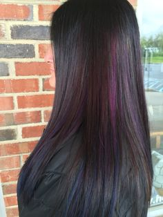 Beautiful oil slick hair my Nicole Totorello at beyond the fringe in Hillsborough NJ