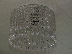 If It's Not Baroque...: Crystal Chandelier {How to make it}