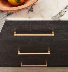 Brass Kitchen Handles, Gold Kitchen Hardware, Brass Cabinet Pulls, Kitchen Drawer Pulls, Brass Hardware, Cabinet Hardware, Office Storage Furniture, Entryway Furniture, Vintage Home Offices