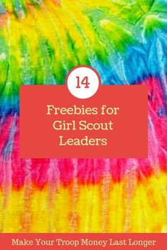 14 Girl Scout Freebies for Leaders on a Budget Girl Scout Leader, Girl Scout Troop, Brownie Girl Scouts, Cadette Girl Scout Badges, Girl Scout Daisy Petals, Daisy Girl Scouts, Girl Scout Daisies, Junior Girl Scout Badges, Girl Scout Juniors