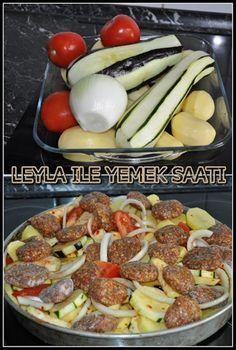 Köfteli Sebze Yemegi | Leyla ile Yemek Saati