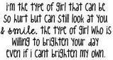 i'm that girl.
